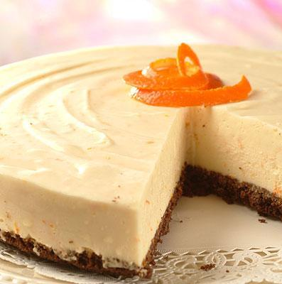 ... Orange Cheesecake combines these ingredients to create an easy to