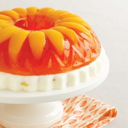 Peaches and Cream Jello