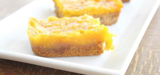 Easy Dessert: Mango Squares