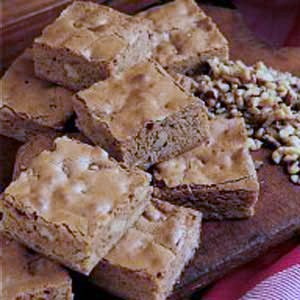 Butterscotch Brownies