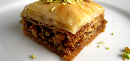 Homemade Baklava