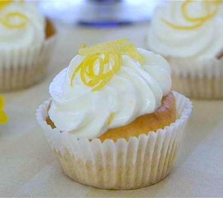Lemon Cupcakes with Cream Cheese Frosting Lemon Cream Cake