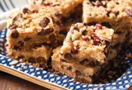 Cranberry Chocolate Chip Bars