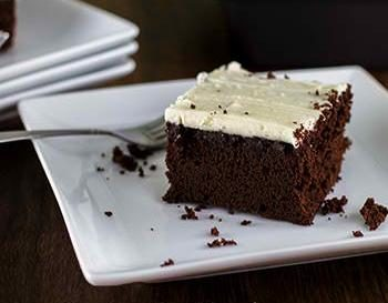 Easy Chocolate Cake with Buttercream Frosting