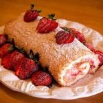 Strawberries and Cream Roll