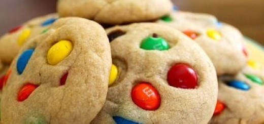 M&M's Drop Cookies