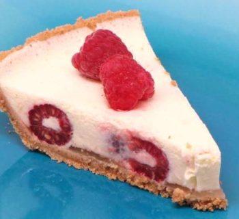 Raspberry Lemon Pie