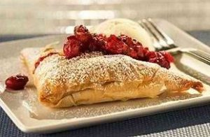 Creamy Cranberry Pockets