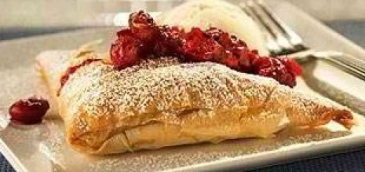 Creamy Cranberry Pockets