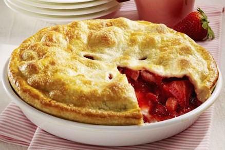 Old Fashioned Fresh Strawberry Pie