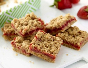 Strawberry Jam Bars