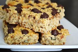 Banana Oatmeal Chocolate Chip Bars