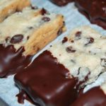 Chocolate-Dipped Shortbread Bars