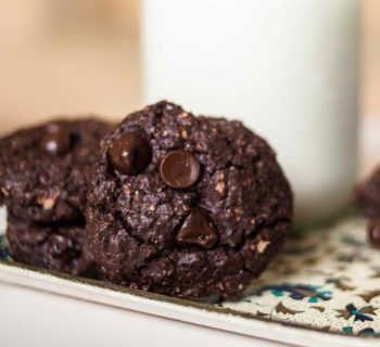 Triple Chocolate Oatmeal Cookies