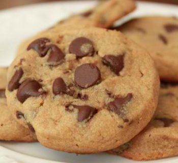 Hazelnut Butter Chocolate Chips Cookies