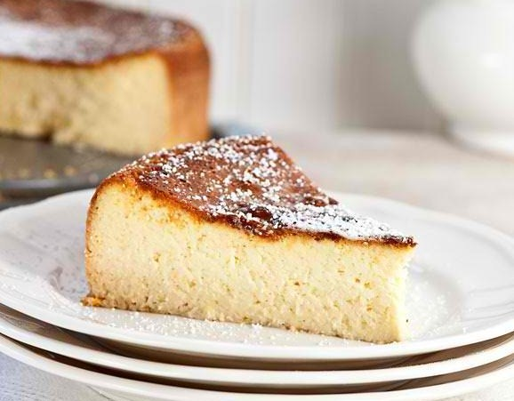 Ricotta Cheesecake | Easy Dessert