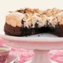Chocolate Hazelnut Meringe Cake