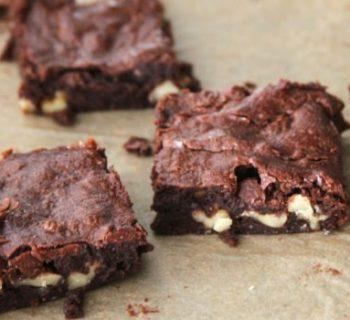 Nutty Mocha Brownies