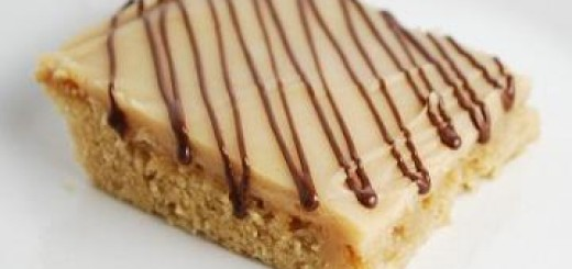 Peanut Butter Bars with Frosting