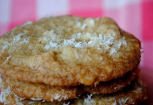 Coconut and Macadamia Nut Cookies