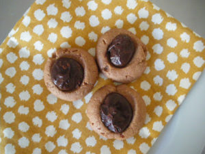 Mud Puddle Chocolate Cookies