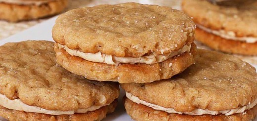 Oatmeal Peanut Butter Cookie Sandwiches