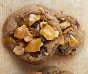 Peanut Brittle Cookies