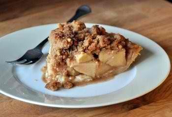 Apple Butterscotch Tart
