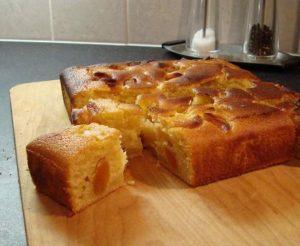 Apricot-Lemon Coffeecake