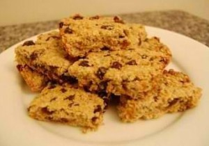 Raisin Macaroon Bars