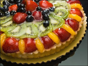 Vanilla Fruit Tart