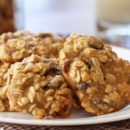 Walnut Banana Raisin Cookies