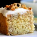Walnut Cake with Cream Cheese Frosting