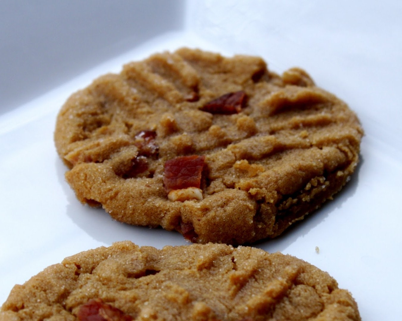 ... flavors makes these Bacon and Peanut Butter Cookies a must try treats