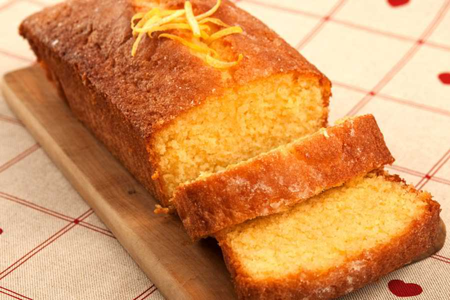 lemon cake with lemon drizzle easy dessert