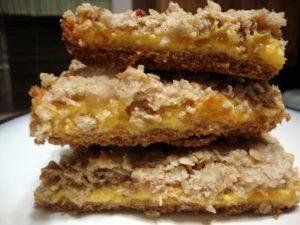 Mango Oatmeal Bars