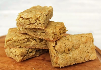 Chewy oatmeal bars flavored with brown sugar, butter and cinnamon. A ...