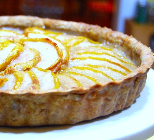 and pear tart easy dessert