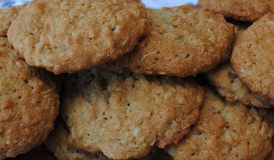 Peanut Butter Coconut Cookies | Easy Dessert