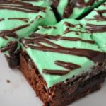 Chocolate Walnut Mint Bars