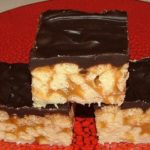 Honey Butterscotch Crispy Bars