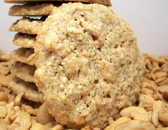 Cashew-Butter Cookies   EasyDessert.org