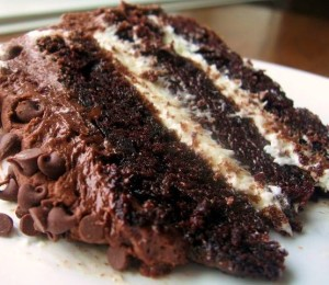 Chocolate Cream Cake