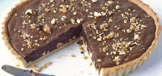 Chocolate Hazelnut Tart