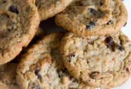 Coconut Oatmeal Raisin Cookies