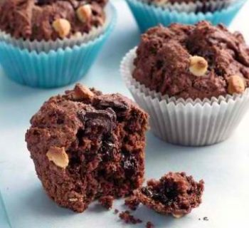 Double Chip Chocolate Cupcakes