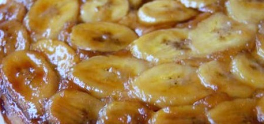 Banana Upside-Down Cake