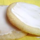 Butter Sugar Cookies with Glaze