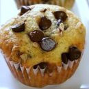 Honey Cupcakes with Chocolate Chip Topping