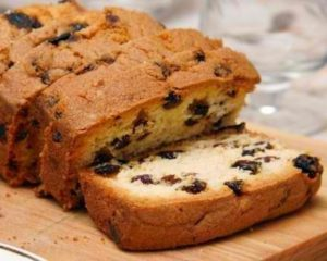 Honey Raisin Cake